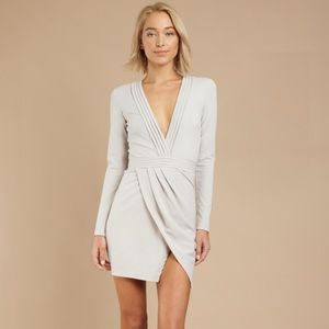 Tobi Dresses - Tobi Long Sleeve Grey Dress